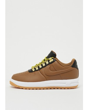 pretty nice 60d3d 51d44 Nike Lunar Force 1 Low Duckboot Marron Marron Noir Blanche AA1125-200 ...