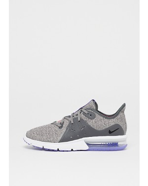 Nike Fonctionnement Femme Air Max Sequent 3 Gris/Noir-Moon Particle 908993-013