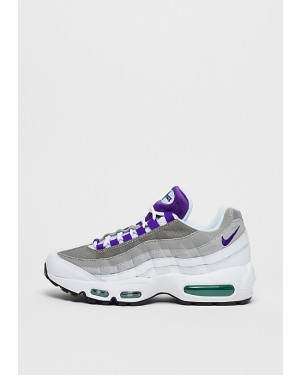 Nike Femme Air Max 95 Blanche/Violet-Vert 307960-109