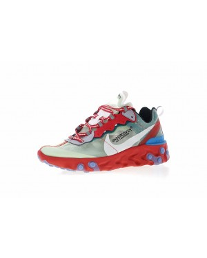 Undercover x Nike React Element 87 Rouge/Vert/Bleu AQ1813-339