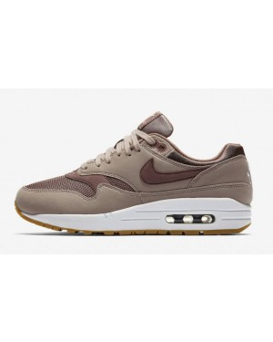 info for 42e77 80adb Nike Air Max 1 Marron Marron-Rouge 319986-204 ...