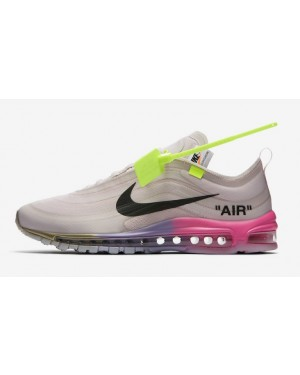 "Off-White x Nike Air Max 97 ""Queen"" Rose/Noir-Rose-Blanche AJ4585-600"