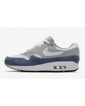 Nike Air Max 1 Blanche/Gris/Bleu AT0060-001