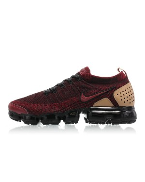Nike Air VaporMax Flyknit 2 NRG Rouge/Rouge-Noir-Marron AT8955-600