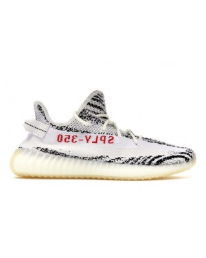 Adidas Yeezy Boost 350 V2 Blanche/Noir-Rouge CP9654