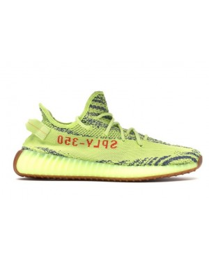 on sale 8acaf f94a3 Adidas Yeezy Boost 350 V2 JauneGris-Rouge B37572 ...