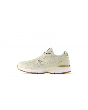 New Balance M990AG4 Blanche/Or